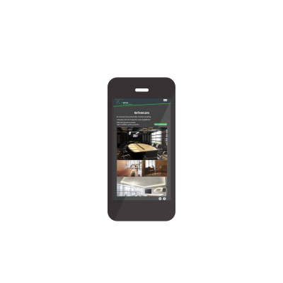 Smartphone / Handy Webdesign welches durch die skriptstube erstellt wurde